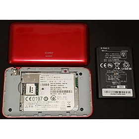 Bộ Phát Wifi 3G Huawei 303Hw – 43,2Mb -kết nối 10 user – Hàng Nội Địa Nhật -màu đỏ - hàng chính hãng