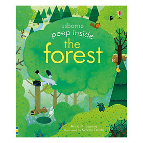 Peep Inside a Forest - Peep Inside (Board book)