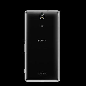 Ốp lưng silicon dẻo trong suốt loại A cao cấp cho Sony Xperia C5 Ultra