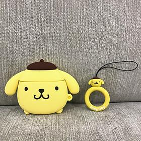 Case Dành Cho Airpods 1 / Airpods 2 - Ốp Bảo Vệ Dành Cho Airpods 1 / Airpods 2 Cao Cấp - Cún Vàng