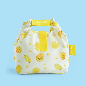 Good day | Pockeat green food bag (small food bag) mango