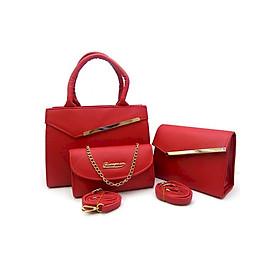 Bộ 3 túi đeo chéo, túi xách và ví nữ L561 thời trang