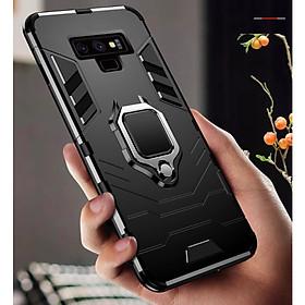 Ốp lưng Samsung Galaxy Note 9 iron man chống sốc kèm iring