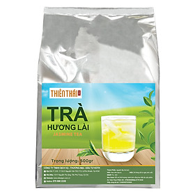Trà Đá - Gói 500gr - Đậm hương thơm nhài, giúp giảm stress, giảm cân, điều hòa lưu thông máu, dùng pha trà lài đá, trà sữa, trà chanh, trà tắc - Jasmine Tea