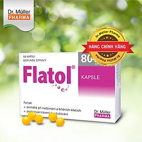Viên tiêu hơi Dr.Muller FLATOL_Ngăn ngừa đầy hơi_đầy bụng_ợ hơi_kích thích tiêu hóa_Nhập khẩu tại Dr.Muller Pharma