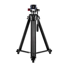 Chân Máy Ảnh Hợp Kim Nhôm Đầu Bi Chất Lỏng Andoer Dành Cho Máy Ảnh Canon Nikon Sony DSLR Và Máy Quay Video DV Kèm Túi Đựng (67 Inch) (Tải Trọng Tối Đa 10Kg)