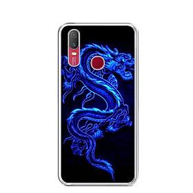 Ốp lưng dẻo cho điện thoại Vivo Y11 - 0270 DRADON02 - Hàng Chính Hãng