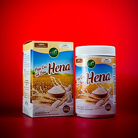 Ngũ Cốc Lợi Sữa Hena 1KG (2 hộp) - Ngũ Cốc Bà Bầu Với 100% Nguyên Liệu Hữu Cơ - Giúp Mẹ Bầu Có Sữa Về Nhiều, Nhanh, Đặc Chỉ Sau 3 Ngày - Sản Phẩm Chính Hãng Cao Cấp - Combo Tiết Kiệm Hơn