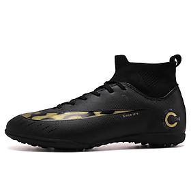 Giày bóng đá nam cổ cao - Giày đá banh sân cỏ nhân tạo 3 mầu FB001