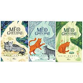 [Download sách] Combo Mèo Chiến Binh - Bí Mật Rừng Sâu + Lửa Và Băng + Vào Trong Hoang Dã