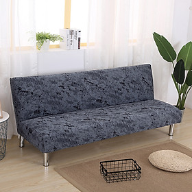 Elastic Seasons Universal Plush Sofa Bed Cover Folding Seat Slipcover Couch Protector
