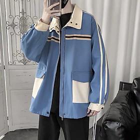 < FREESHIP > Áo khoác kaki unisex nam nữ hàng bao đẹp y hình form rộng