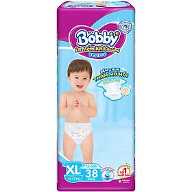 Tã Dán Bobby Fresh Siêu Mỏng Gói Đại XL38 (38 Miếng)