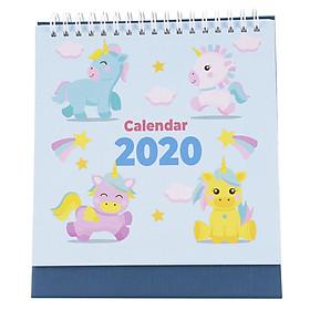 Lịch Để Bàn 2020 - Unicorn (16 x 16cm)