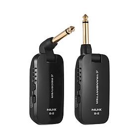 Bộ Thu Phát Không Dây Cho Guitar Điện NUX B-2 (2.4G) (4 Kênh) (Pin Li-ion)