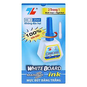 Hộp 6 Mực Bút Lông Bảng Thiên Long WBI-01 - Xanh