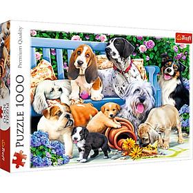 Tranh ghép hình TREFL 10556 - 1000 mảnh Puzzle Những chú chó vui nhộn