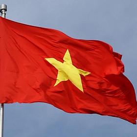 Lá Cờ Việt Nam, cờ Tổ Quốc 70x1m1