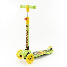 Xe Scooter trẻm em COUGAR BC05 hàng chính hãng + thay đổi chiều cao 3 nấc + có thể gập gọn