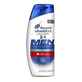 Dầu gội và xả Head & Shoulders Men 2in1 Old Spice Pure Sport 650ml