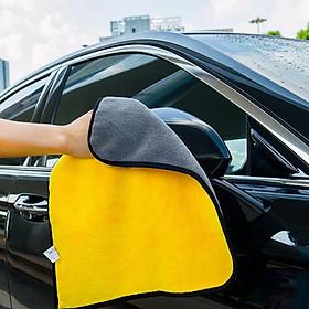 Combo 5 khăn lau xe hơi chuyên dụng , thấm hút tốt , rửa xe, lau khô, lau sáp đánh bóng, vệ sinh các vết bẩn