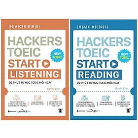 Combo Sách Hacker TOEIC - 30 Phút Tự Học TOEIC Mỗi Ngày : Hackers TOEIC Start Listening + Hackers TOEIC Start Reading