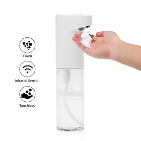 500mL Automatic Foam Soap Dispenser Touchless Foaming Soap Dispenser Sanitary Infrared Hand-free Auto Hand Soap