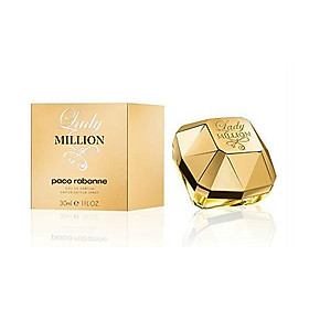 Lady Million by Paco Rabanne, 1 Ounce
