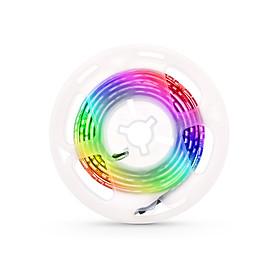 LED Computer Case Strip Light Flexible RGB Lamp Tape Diode 5V Desk Screen TV Background Lighting USB Powered 3 Key