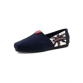 Giày Vải Nữ TS17 - Xanh Đen