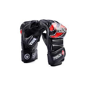 Hình đại diện sản phẩm Găng tay MMA Gloves Wolon Fighter - Đen