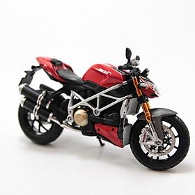 Mô Hình Xe Ducati Streetfighter S Red 1:12 Maisto MH-31101-6