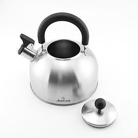 Ấm Đun Nước Inox 304 Elmich Smartcook 2.5L SM3372 Dùng Bếp Từ - Hàng chính hãng
