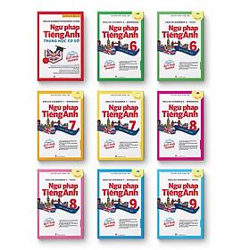 Bộ Sách English Grammar - Ngữ Pháp Tiếng Anh THCS (9 Cuốn)