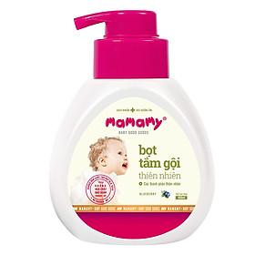Bọt Tắm Gội (Sữa Tắm Gội) Thiên Nhiên Siêu Kháng Khuẩn An Toàn Cho Bé Mamamy Hương Blueberry (400ml)