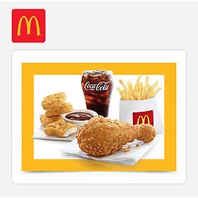 McDonald's - Enjoy McDonald's C (Ecode Combo- Chicken Burger)