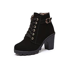Giày Boot nữ thời trang khóa kéo B001D