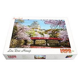Bộ tranh xếp hình cao cấp 1000 mảnh ghép – Lâu Đài Himeji (50x79cm)