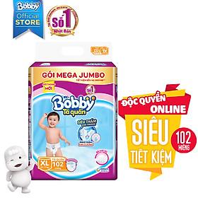 Tã Quần Bobby Gói Mega Jumbo XL102 (102 Miếng)-1