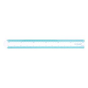 Thước Kẻ Shell 30Cm Y-PLUS+ - RX1302_SHELL (Màu Ngẫu Nhiên)