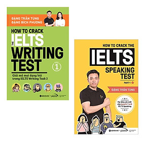 Combo Luyện Thi IELTS: How To Crack The IELTS Writing Test Vol.1 + How To Crack The IELTS Speaking Test - Part 1 (Tái Bản)