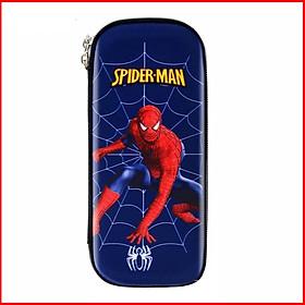 Hộp bút cho bé trai in 3D hình siêu nhân người nhện Batman nhân vật hoạt hình  E86