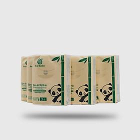 5 Bịch Khăn Giấy bỏ túi Bobo Bamboo (10 gói nhỏ/bịch )