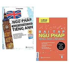 Combo sách ngữ pháp Tiếng Anh: Ngữ Pháp Và Giải Thích Ngữ Pháp Tiếng Anh Cơ Bản Và Nâng Cao 80/20 - tập 1 + Bài Tập Ngữ Pháp Tiếng Anh Căn Bản