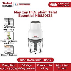 [Gift] Máy xay thực phẩm Tefal Essential MB520138 - Hàng chính hãng