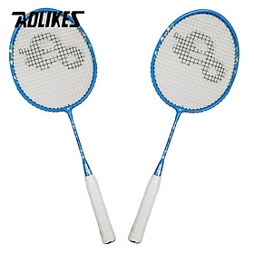 Bộ 2 vợt cầu lông trẻ em AOLIKES A-8123 Badminton for Kids Outdoor Sports