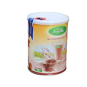 Gạo lứt -Bột sữa mầm gạo lức SoyNa - Có đường cỏ ngọt, tốt cho người tiểu đường, ăn kiêng, giảm cân và giúp điều hòa huyết áp