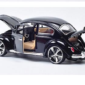 Mô hình xe cổ Volkswagen-Beetle 1:18 MZ 2010 (đen)