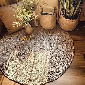 Thảm cói trải sàn phòng khách, phòng ngủ 60/80/100/120/150/180cm (Loại1)