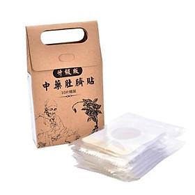 Miếng Dán Rốn Tan Mỡ Trung Y Túi 10 Miếng